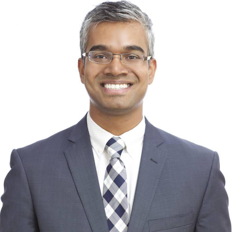 Headshot of Vijay Perinparajah